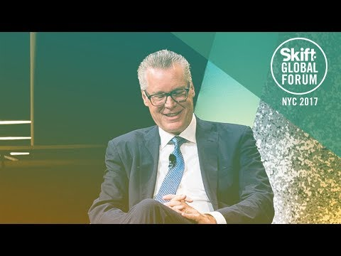 Delta Air Lines CEO Edward H. Bastian at Skift Global Forum 2017