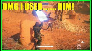 Star Wars Battlefront 2 - OMG I used Anakin (Knockdown) Skywalker XD | Anakin Killstreak!