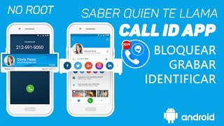 Call ID App | Saber de quien es el numero que te llama | Identificador de llamadas - Ayala Inc
