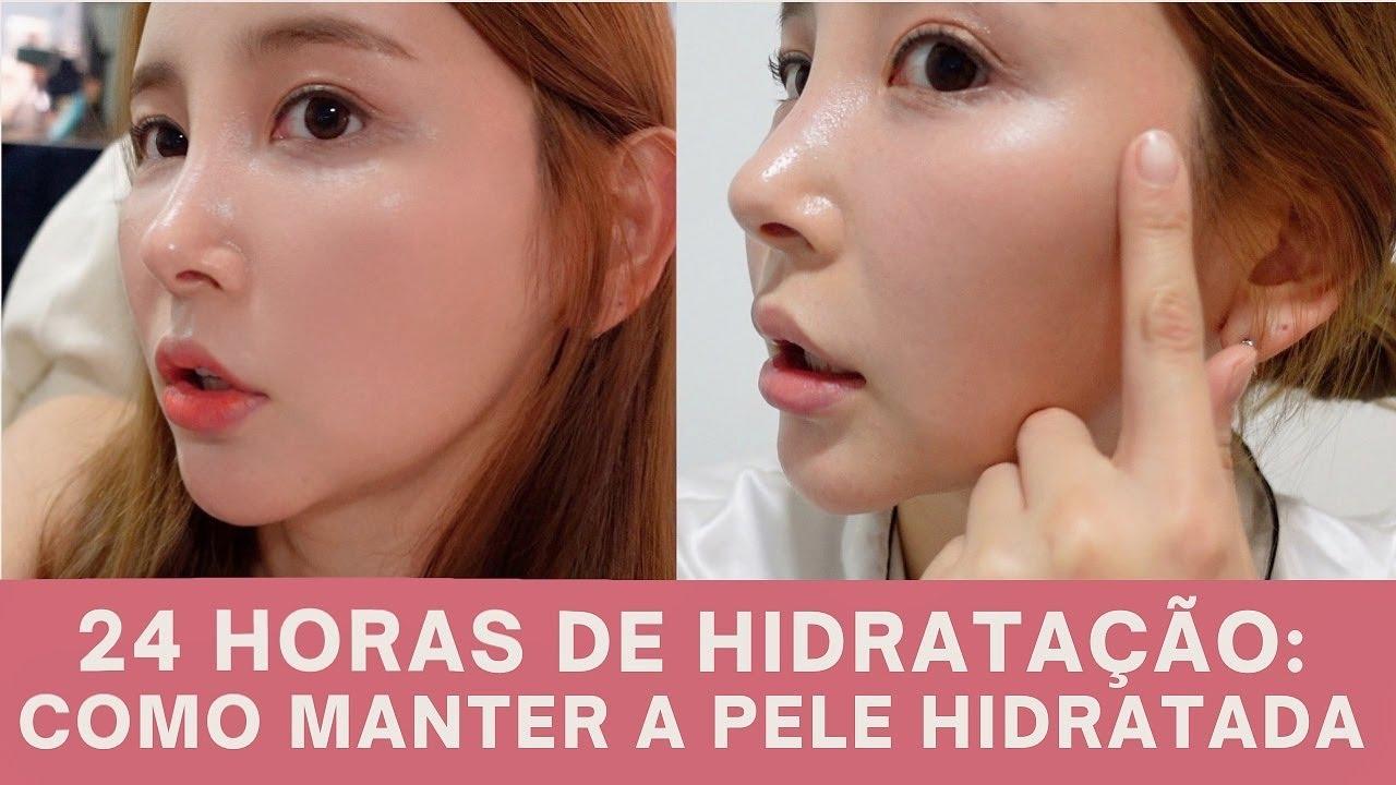 SUB)건조한 피부를 한번에 해결하는 방법(24시간 물광 유지)