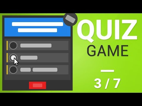 [Tutorial] How to create Quiz Game in Unity [Part 3/7] - MORE CODING! thumbnail
