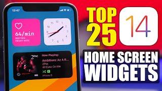 Top 25 - IOS 14 Home Screen WIDGETS !