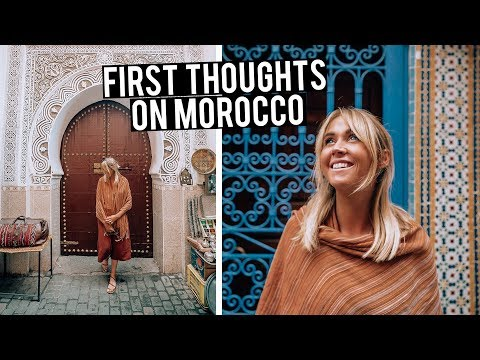 First Thoughts on Morocco | Exploring The Streets of Marrakech