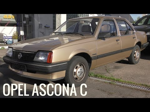 Der Letzte Opel Ascona - Baureihe C (1981 - 1988) - OPEL Classic Car - Oldtimer