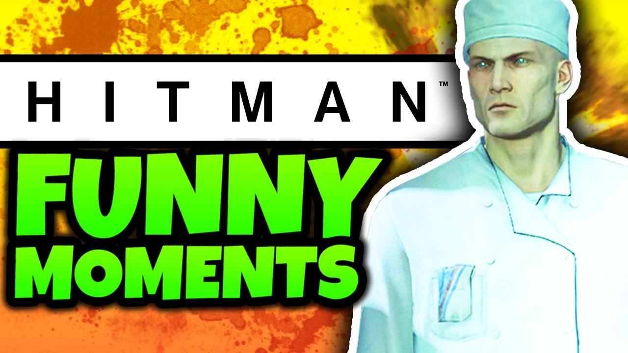 Hitman Funny Moments The Killer Chef Hitman Paris Gameplay Youtube