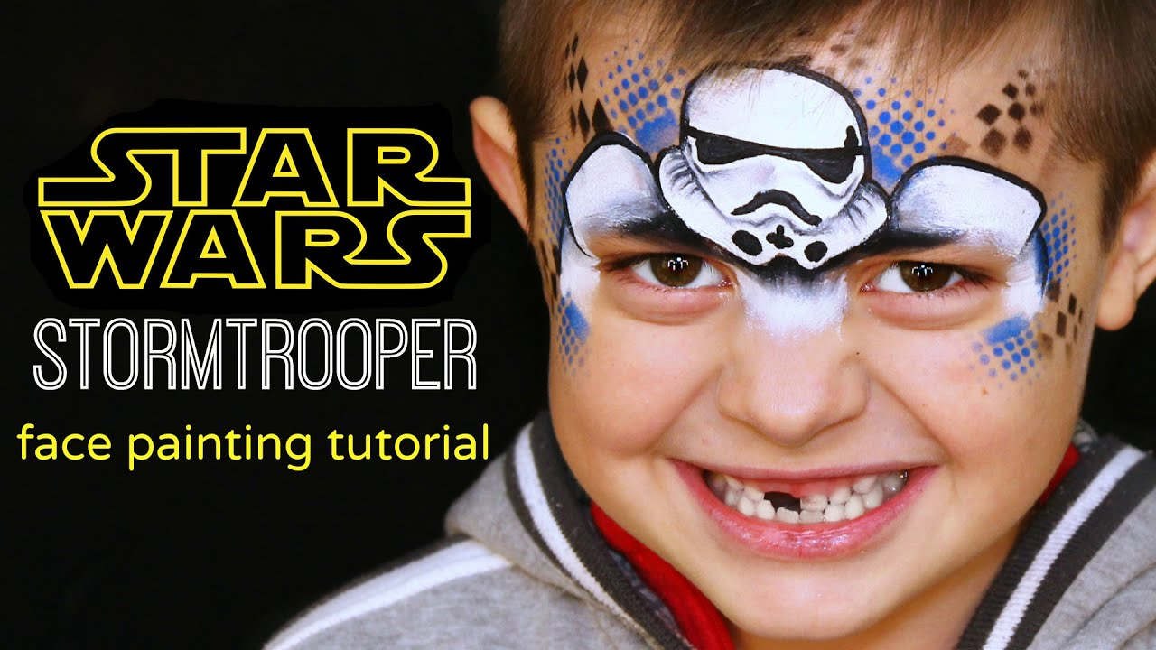 Easy Star Wars Face Painting Ideas