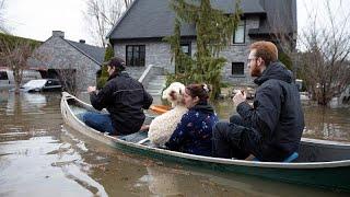 AVRIL 2019: Des milliers de sinistrés au Canada et les eaux continuent de monter