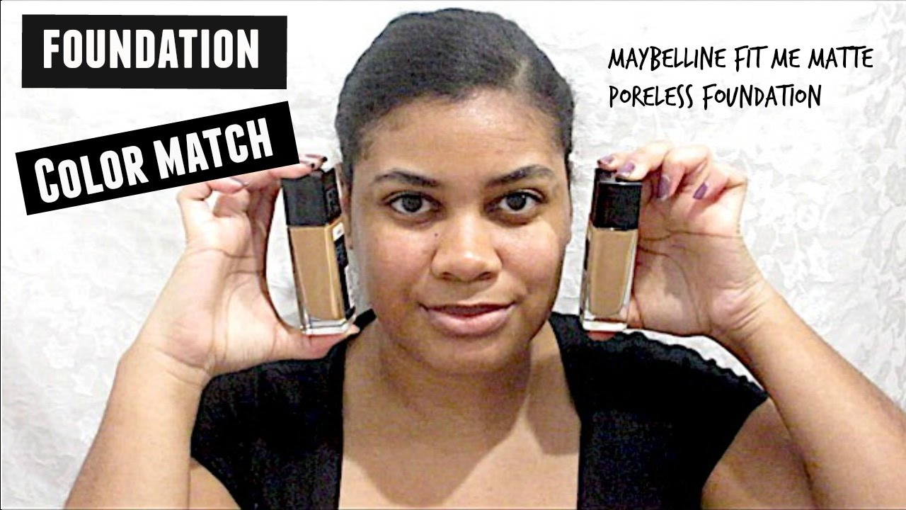 Maybelline Fit Me Matte Poreless Foundation 322 330 Youtube Airyrooms 30ml