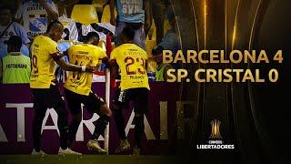 Barcelona vs. Sporting Cristal [4-0] | RESUMEN Y GOLES | CONMEBOL Libertadores 2020