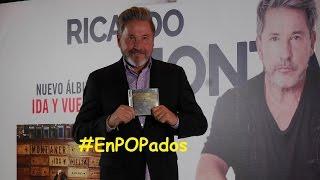 "RICARDO MONTANER @montanertwiter en México presenta y comenta ""Ida y Vuelta"" #IdaYVuelta #EnPOPados"