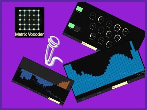 MATRIX Vocoder by Virsyn - iPad Demo - Live Stream