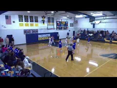 Washington  vs. Indianola Academy JV Mens' Basketball