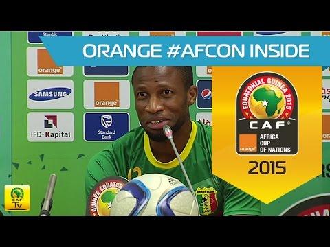 Mali - Conférence de Presse 19/01 - Orange Africa Cup of Nations, EQG 2015