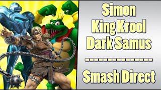 Smash Bros Adds King K Rool, Simon Belmont, Dark Samus and MORE!