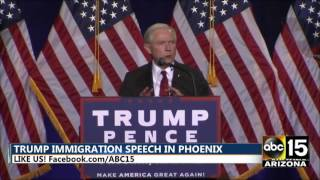 FULL SPEECH: Sen. Jeff Sessions - Donald Trump rally in Phoenix, AZ