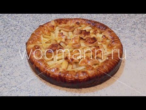 Рецепт Яблочный пирог из песочного теста без регистрации