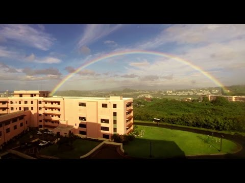Time lapse of Tripler Army Hospital (Honolulu, Hawaii)