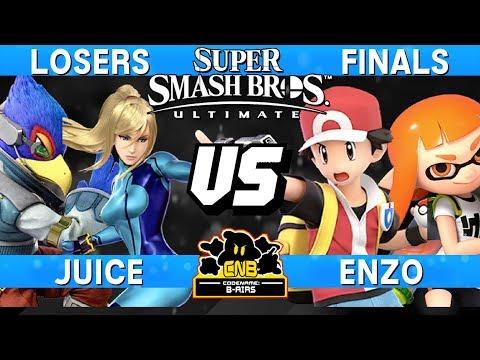 Smash Ultimate Tournament Set - Enzo (Pokemon Trainer/Inkling ) vs Juice (Zero Suit/Falco) - CNB 177 thumbnail
