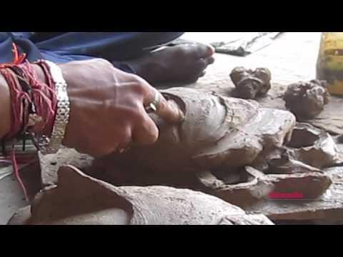 Performing Arts: Chhau mask making