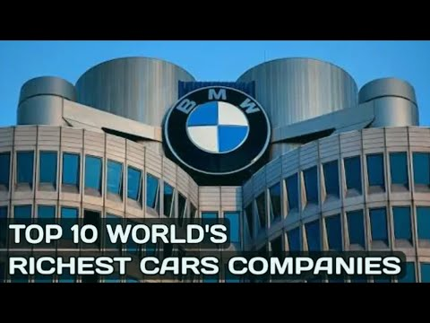 Top 10 RICHEST car companies in the world//TOP 10