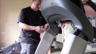Cybex 770T Treadmill Assembly How To
