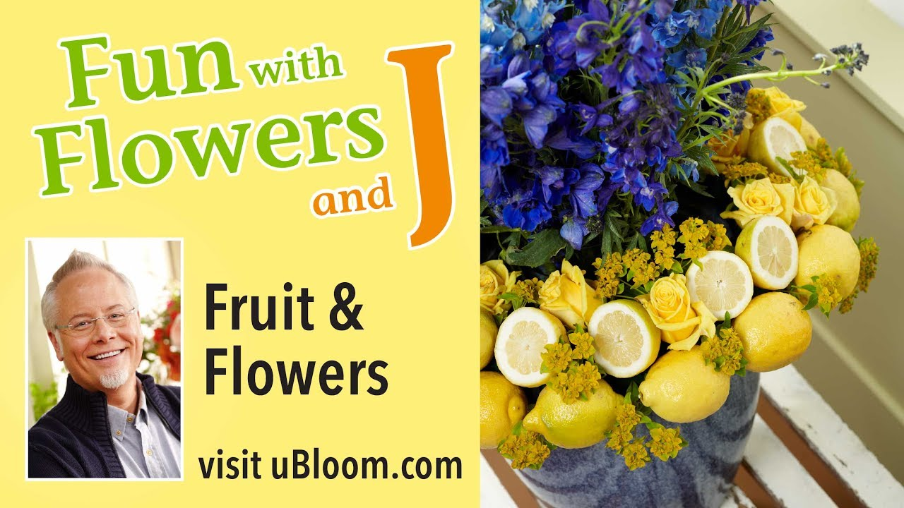 How To Arrange Flowers Create A Fruit And Flower