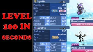 The FASTEST Method to Lv. 100 | Pokémon Sun and Moon (Works in USUM)