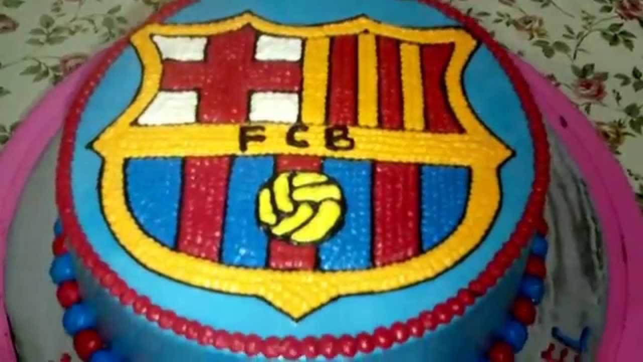 Pictures Of Barcelona Birthday Cakes