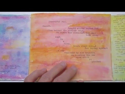 Witness by Trina L. Drotar - An Artist Book for Marin MOCA's 7th Annual Altered Books Exhibit