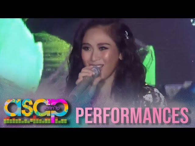 "ASAP Natin 'To: Sarah G channels JLo in ""Dance Again"" performance!"