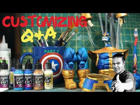 Action Figure Customizing Basics with guest Boog Jones - Part 1