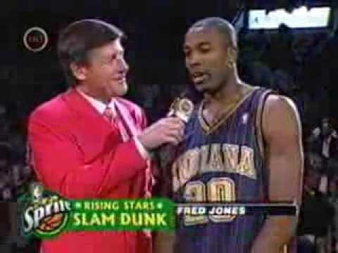 Fred Jones - 2004 NBA Slam Dunk Contest (Champion)