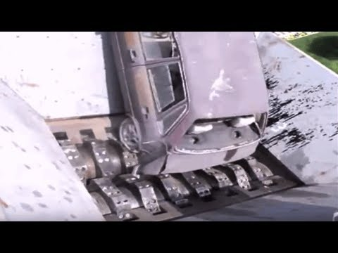awesome car shredders Slow Speed