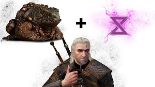 The Witcher 3 : Kill The Toad Prince (Boss Fight NO DAMAGE)