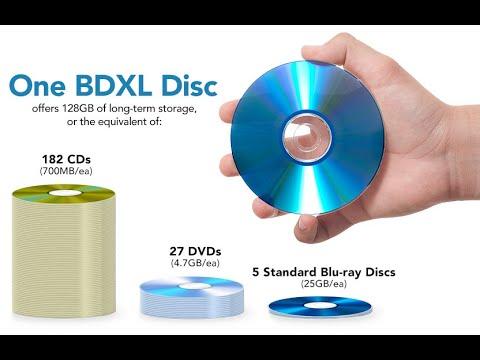 Обзор Blu-Ray диска 128gb Bd-r Xl