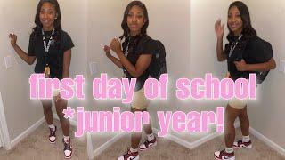 GRWM: FIRST DAY OF SCHOOL (junior year) 2020 + MINI VLOG