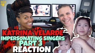KATRINA VELARDE - IMPERSONATING SINGERS 3 | BURN | REACTION