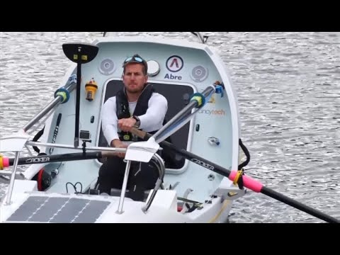 Teacher Breaks World Record Rowing Solo Across North Atlantic Ocean