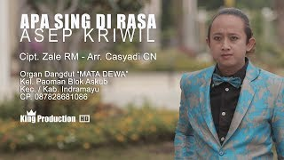 [8.42 MB] Apa Sing Di Rasa - Asep Kriwil Official Video Clip Asli King Production