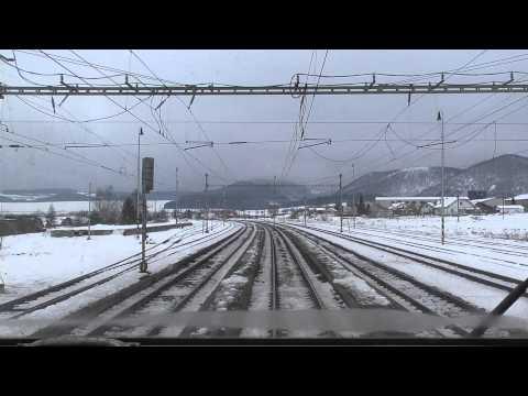 Cabview Poprad-Tatry - Košice, Os 7811 - 163.123