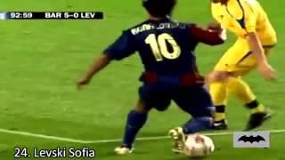 Ronaldinho et 50 buts supers magnifiques