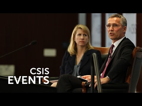 Statesmen's Forum: Jens Stoltenberg, NATO Secretary General