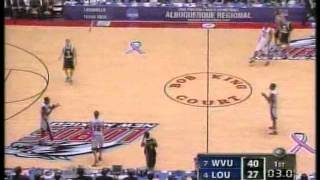 Louisville vs West Virginia 2005 NCAA Elite 8 (FULL GAME)