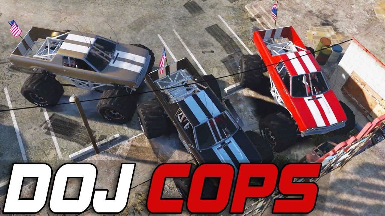 Dept. of Justice Cops #200 - Monster Truck Jam (Criminal)