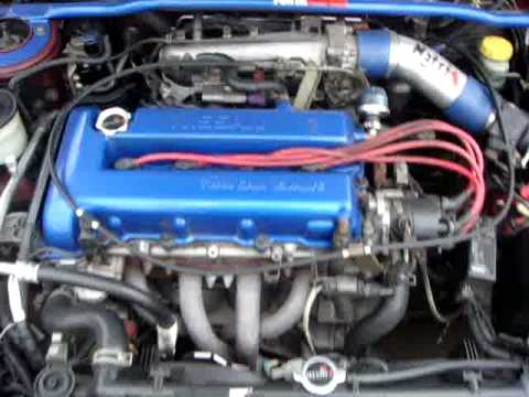 Nissan Primera SR20DE - YouTube