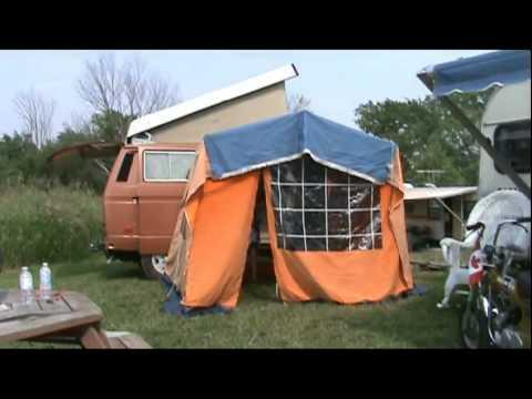VW Westfalia Tent & VW Westfalia Tent - YouTube