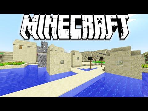 """Minecraft 1.10 Snapshot: New Water Villages & Bridges! """"Snapshot 16w22a"""""""