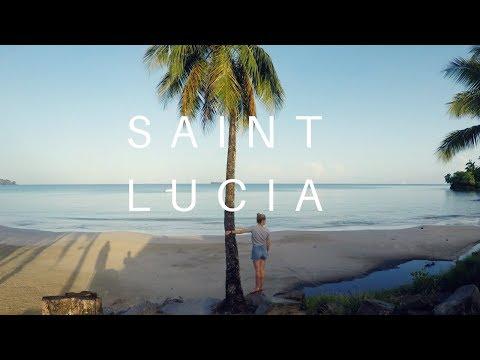 Exploring the caribbean island of Saint Lucia