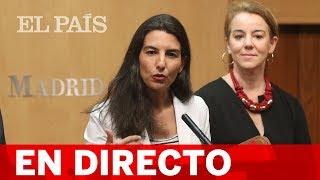 DIRECTO VOX | MONASTERIO comparece tras el PACTO en MADRID entre PP y Cs