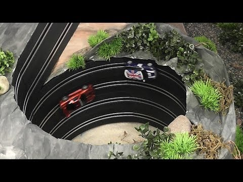 Turbo Mountain! Police car chase with CARRERA GO!!! cars in Turbo Mountain.